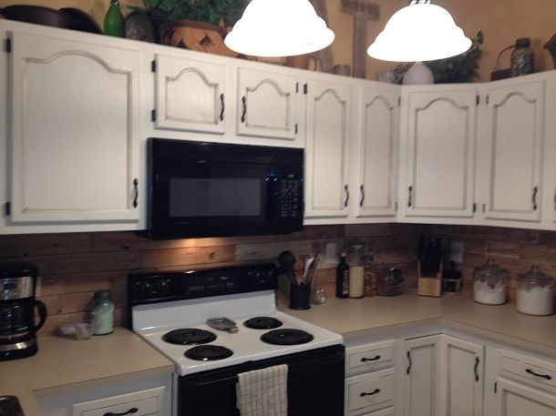 kitchen backsplash made from recycled pallets hometalk