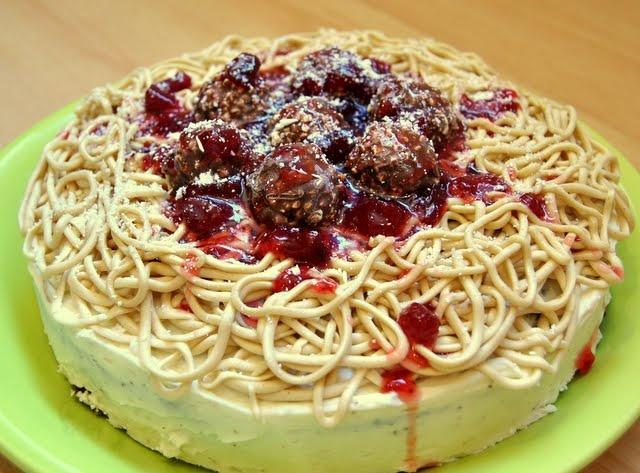 Spaghetti Cake Recipes — Dishmaps