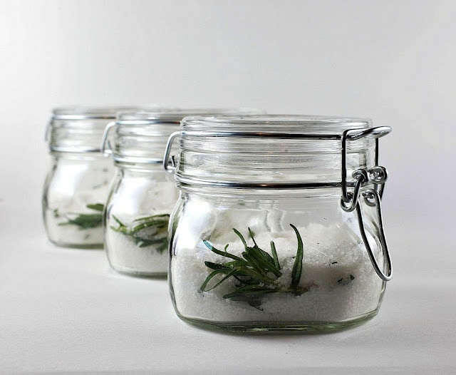 rosemary salt for remembrance & flavor