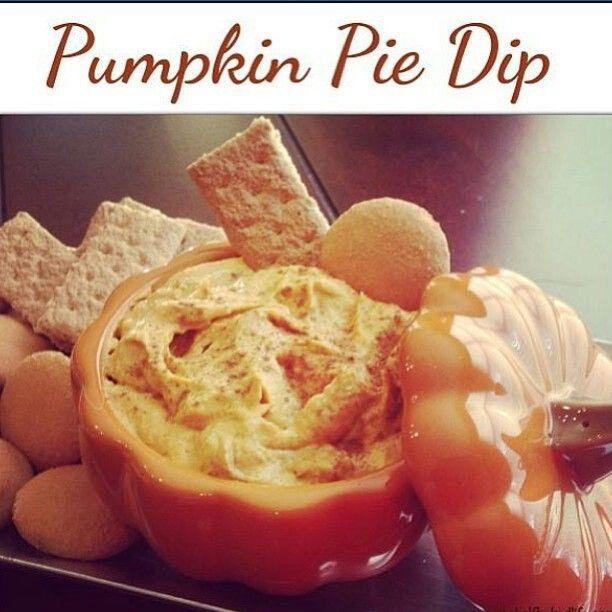 Pumpkin pie dip | Dips | Pinterest