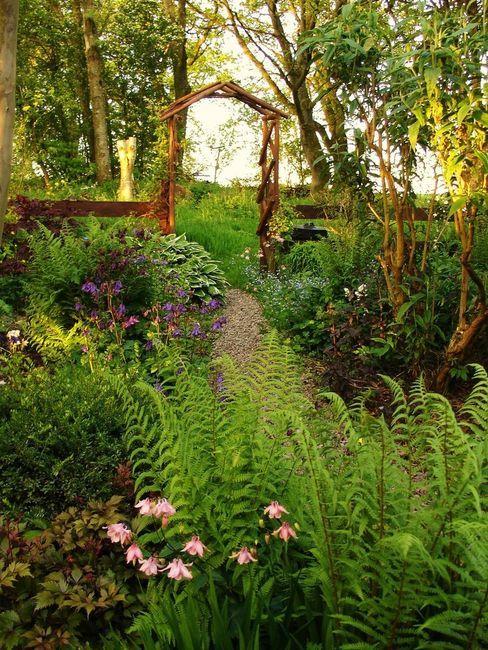 Cottage Garden for the shade Yard Garden Pinterest
