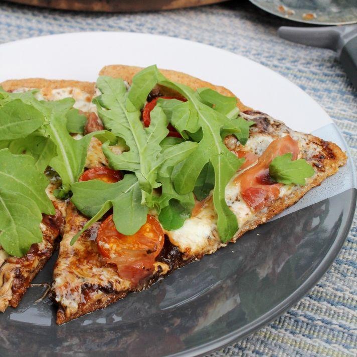 Arugula, Black Garlic and Tomato Pizza | Pizza & Flat Breads | Pinter ...