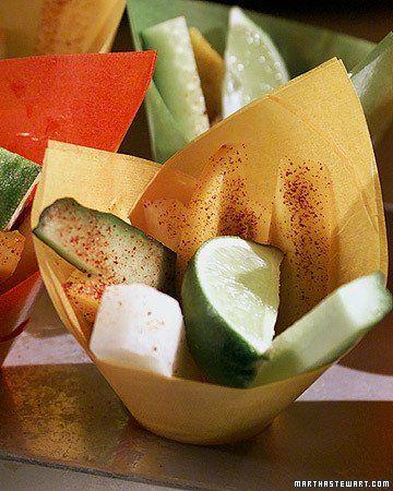 Rick's Mango, Jicama, and Cucumber Salads | Recipe