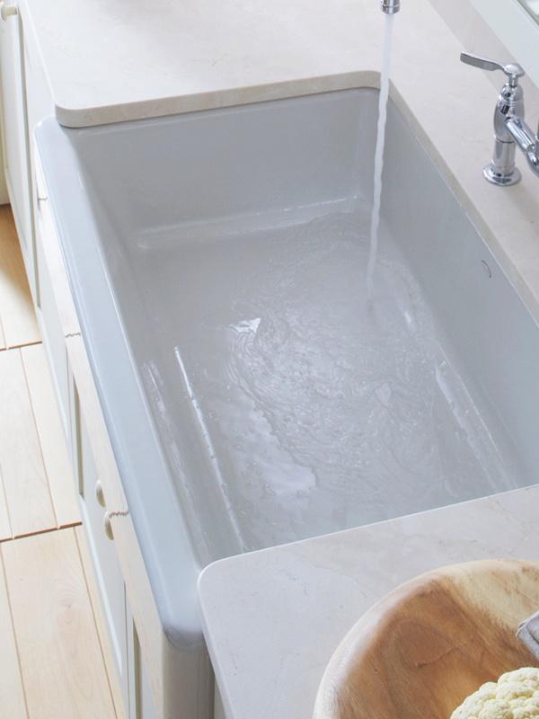 Apron Front Lavatory Sink : Kohler apron front sink Ideas for Parents House Pinterest