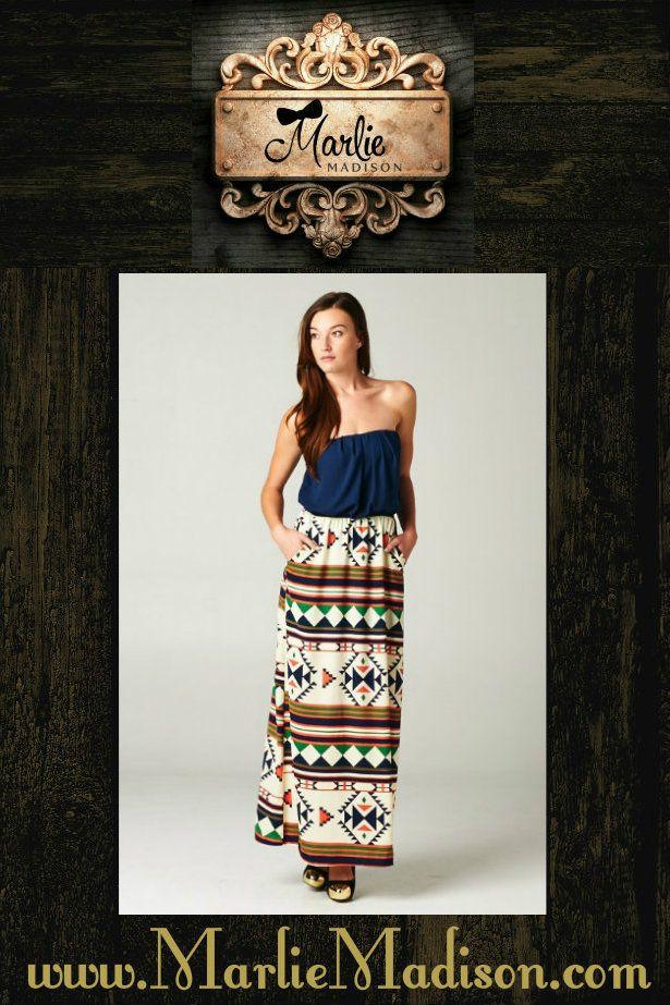 Cowgirl Maxi http://www.marliemadison.com/dresses
