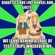 Diabetic 1 Hansel and Gretel Meme!
