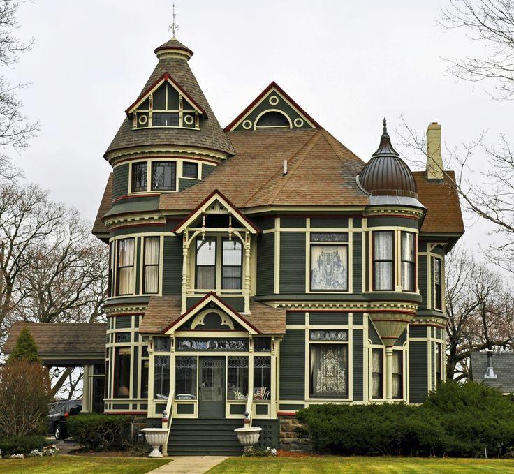 Victorian port huron mi dream home pinterest for Dream homes in michigan