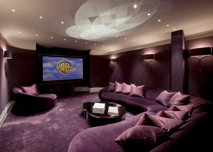 Cinema Room Love This Home Sweet Pinterest