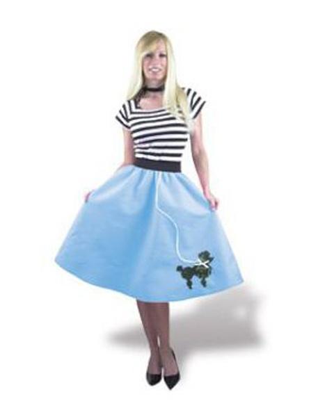 1950 s blue poodle skirt costume craft ideas