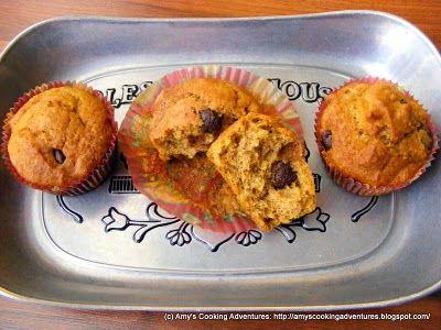 pumpkin zucchini chocolate chip muffins | Breakfast | Pinterest