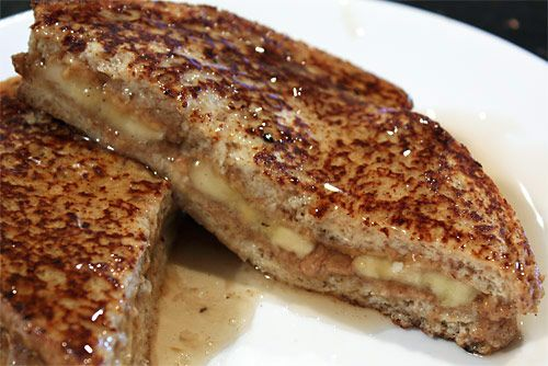 Peanut Butter Stuffed French Toast (just another excuse to have peanut ...
