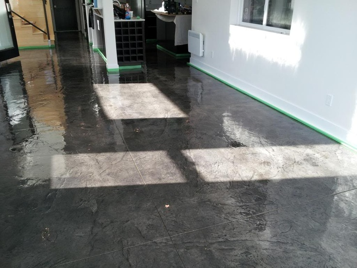 Pin By On Decorative Concrete Interior Floors P