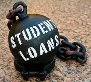 College is fun but repaying school loans is not.
