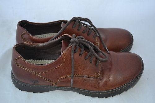 Born Women Shoes Lace Up Brown Size 8 5 40 | eBay