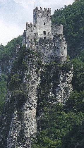 Castello di Salorno, Built early 13th c. Province of Bolzano, Trentino alto Adige region, Italy