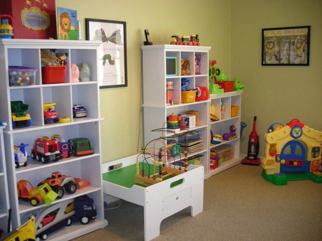 playroom storage kid s room