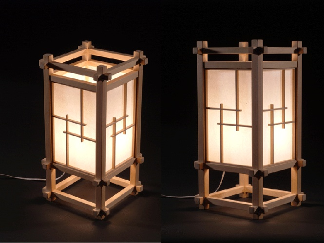 Japanese Lamp | Woodworking Projects | Pinterest