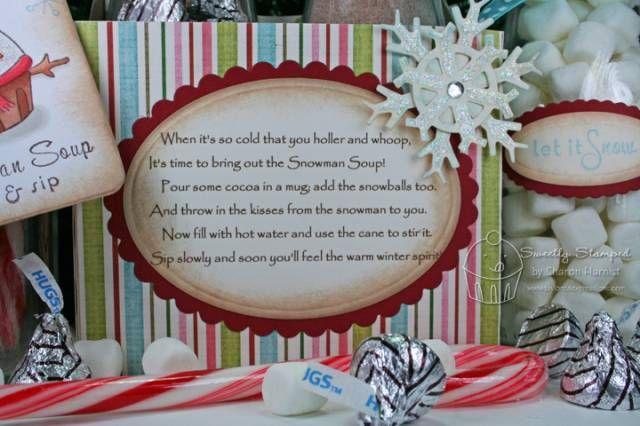 front of snowman soup kit | Christmas | Pinterest