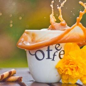 Beautiful coffee ....