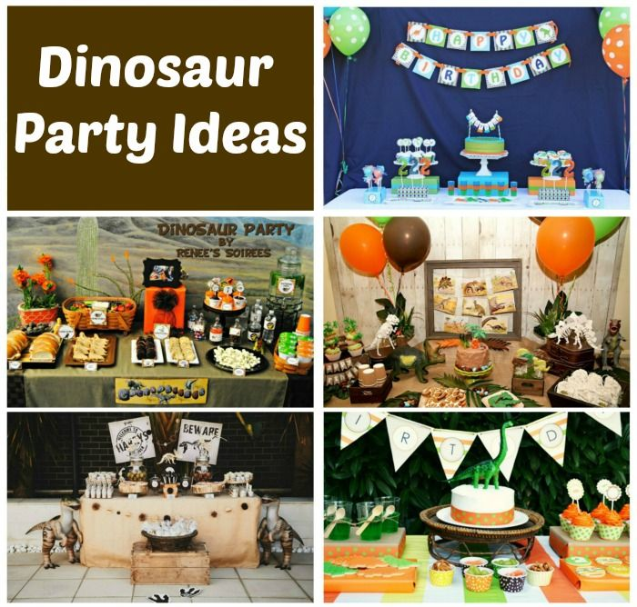 Dinosaur Birthday Party Ideas On Pinterest Image Inspiration of