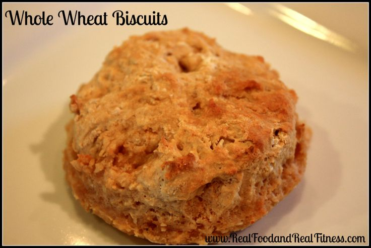 Easy Whole Wheat Biscuits. This is such a fast recipe and my kids love ...