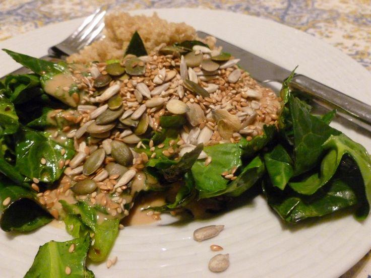 Irresistible Tahini-Miso Dressing | Dinner Recipes | Pinterest
