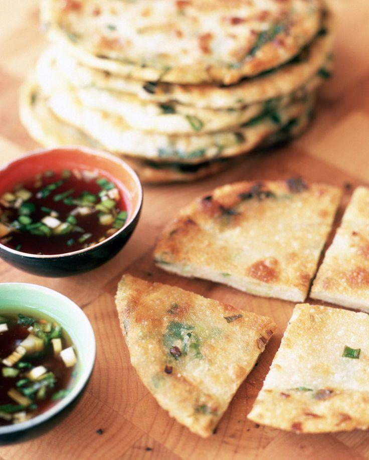 Chinese scallion pancakes | Food Ideas | Pinterest