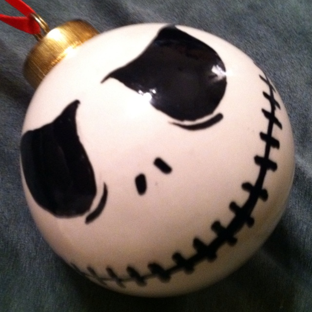 Nightmare Before Christmas DIY Ornament - no instructions, but think I ...