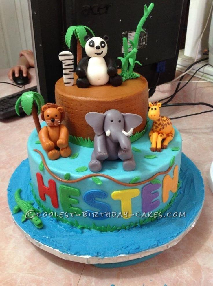 Zoo Animal Cake Birthday Ideas Pinterest - Birthday Cake