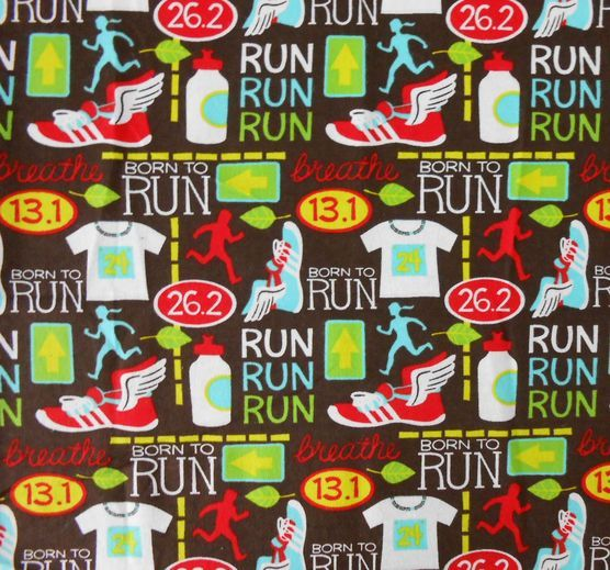 Quilting Fabric Running Shoes