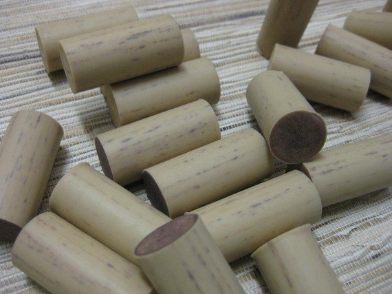 wood grain wine corks, synthetic, upcycled wine corks