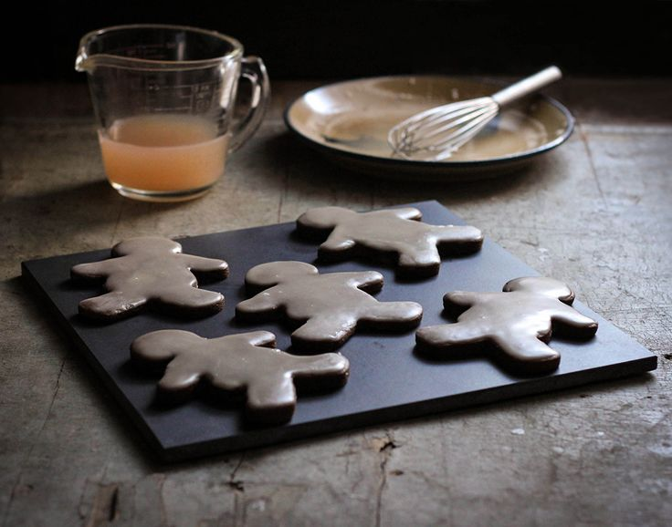 Spicy Gingerbread Cookies with Citrus Glaze | Reclaiming Provincial