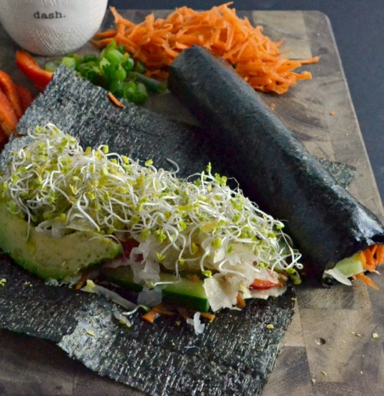 Vegetarian Nori Rolls Recipe — Dishmaps