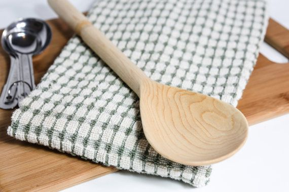 Handmade Wooden Cooking Spoon - Wood Kitchen Utensils - Made From ...