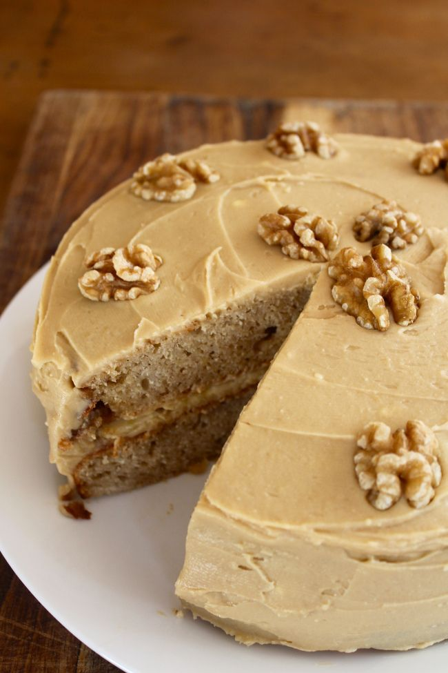 Maple Cake With Maple Syrup Frosting Recipe — Dishmaps
