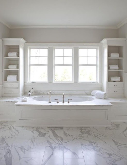 Pretty bath tub storage set up bathroom ideas pinterest Pretty bathroom ideas