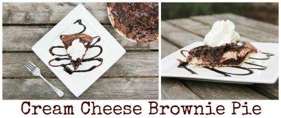 Cream Cheese Brownie Pie | Tasty Kitchen: A Happy Recipe Community!