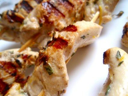 Grilled Chicken Souvlaki Gyros | Food - Great Grilling | Pinterest
