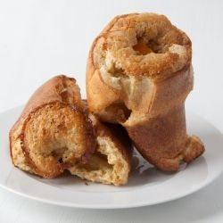 Buttery Coconut Popovers With Fresh Strawberry Syrup Recipes ...