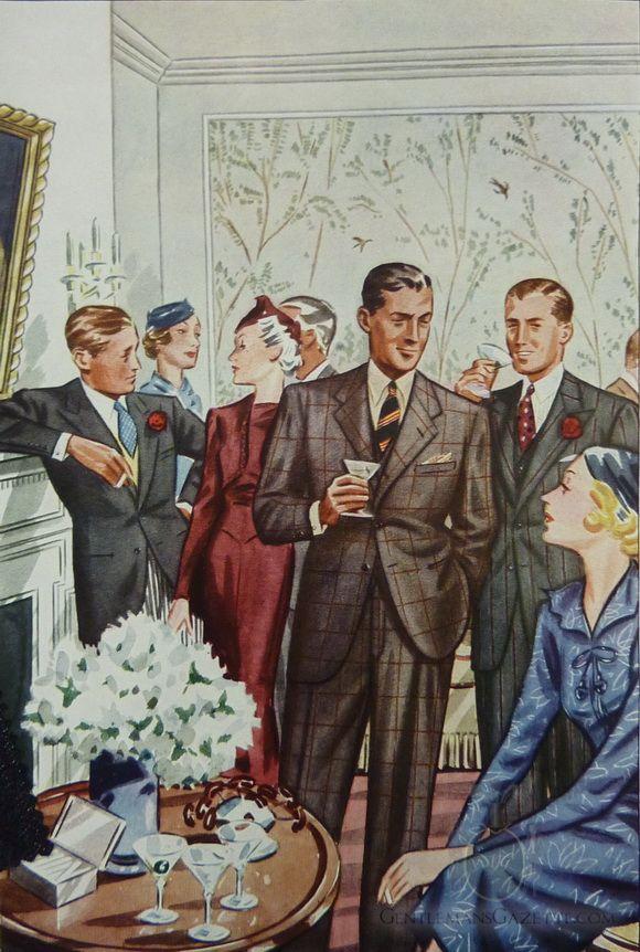 Cocktail Attire For Men — Gentleman's Gazette