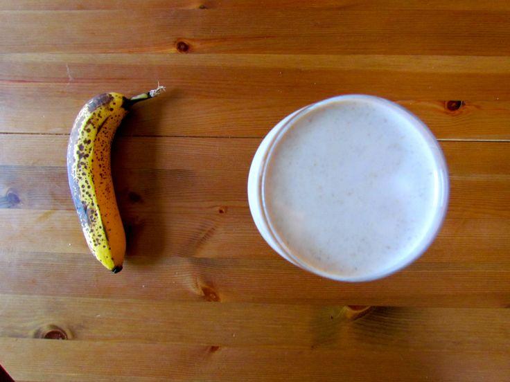 Toasted Walnut Banana Smoothie | Smoothies | Pinterest