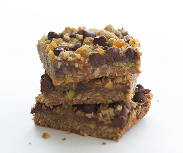 apricot pistachio amp chocolate chip bars