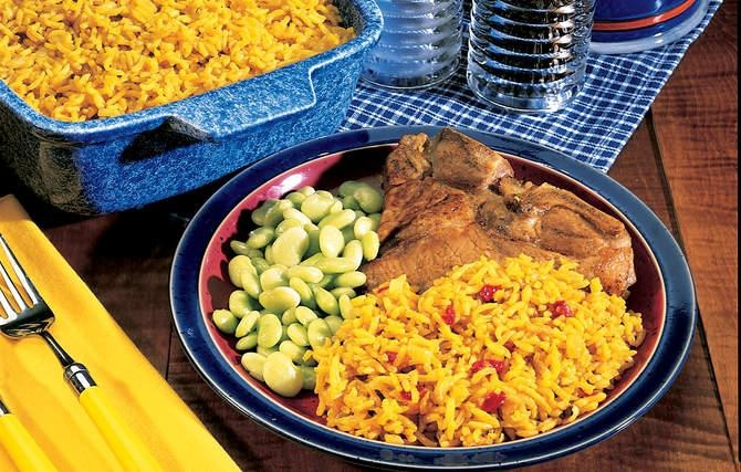 Yellow Rice Pilaf - Using yellow rice mix can cost up to 10 times more ...