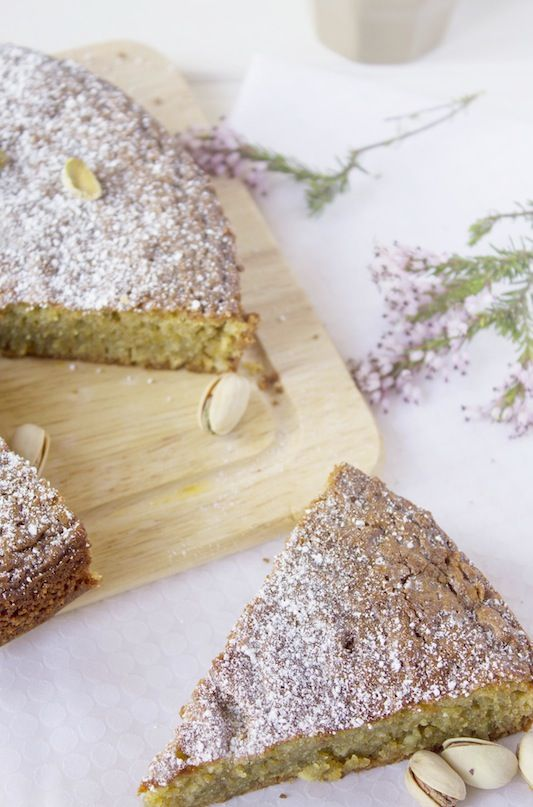 Pistachio cream cake | Cocina con Angi: dulce / sweet things | Pinter ...