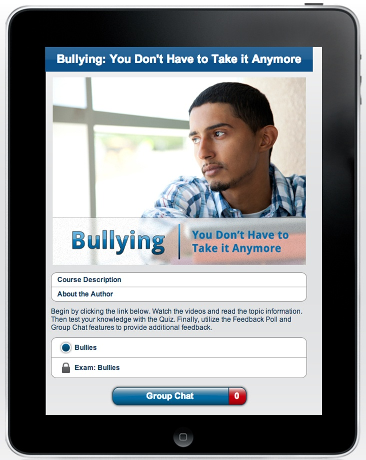 Bullying: You Don't Have to Take It