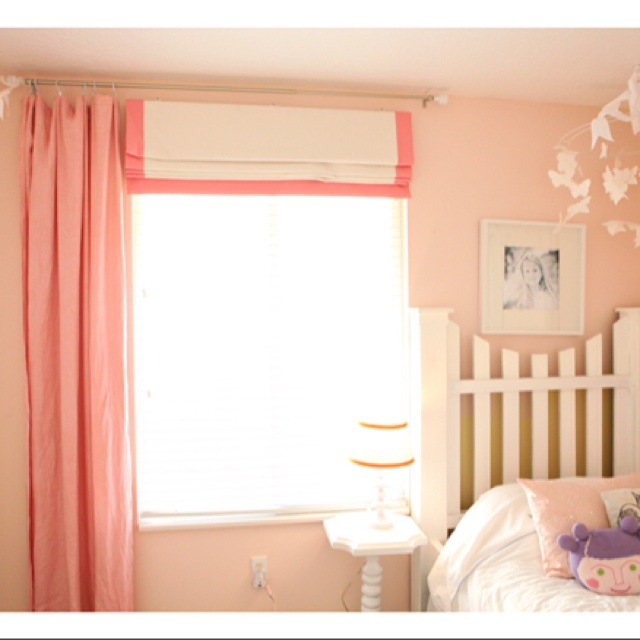 Like the curtains and roman shade! | Nursery--Lily Mae--Baby Girl 3 ...