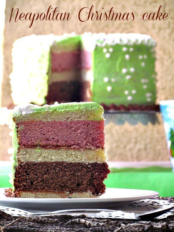 Neapolitan Christmas Cake | Christmas Ideas | Pinterest