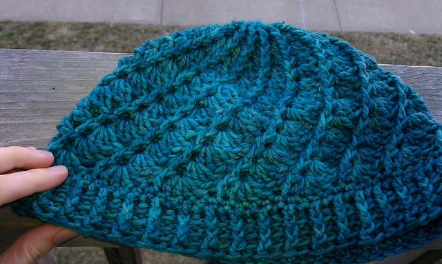 Crochet Patterns One Skein : ... one skein crocheted hat. Love the colors of this yarn! (free pattern