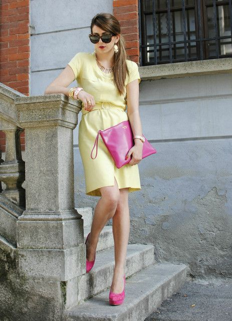 Pink and Yellow!!