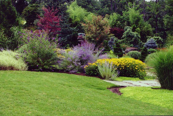backyard flower gardens  Garden Inspiration  Pinterest